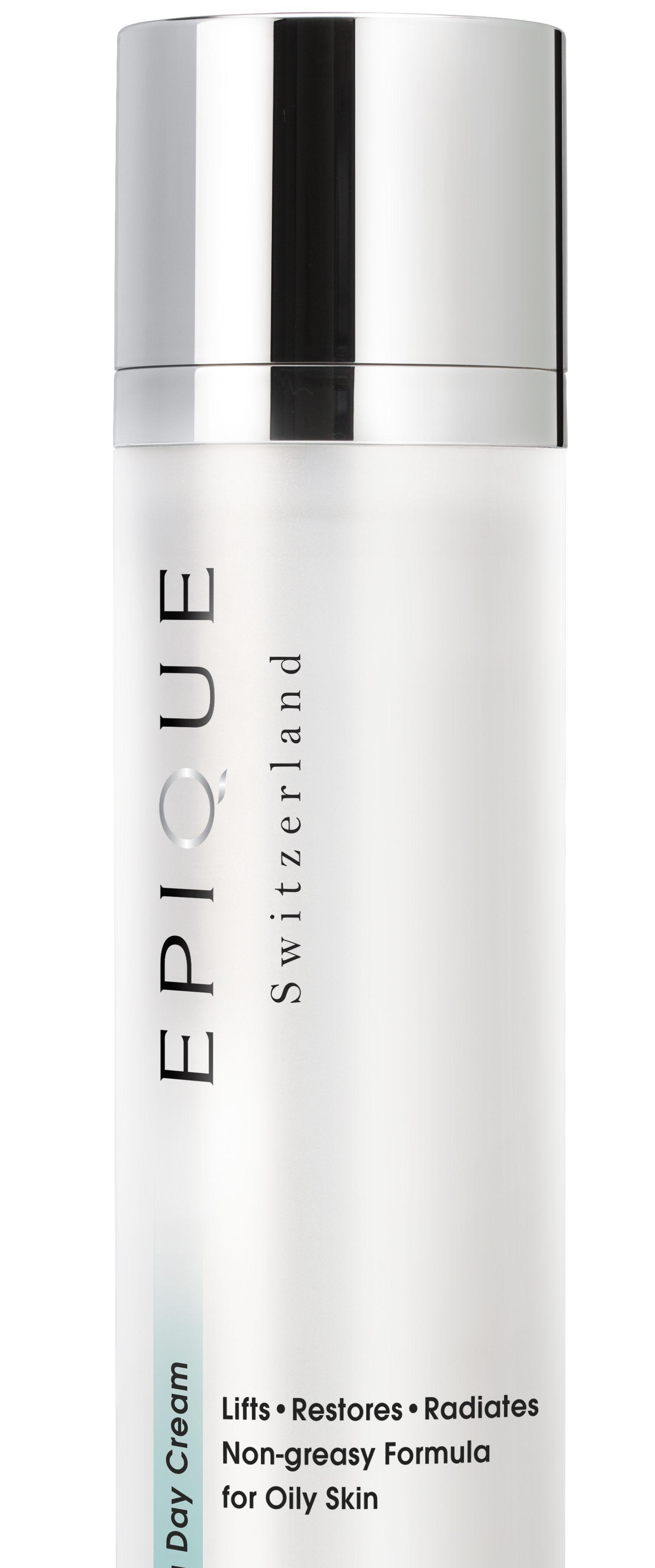 Re-balance your Oily skin: Epique Day Balancing Cream.