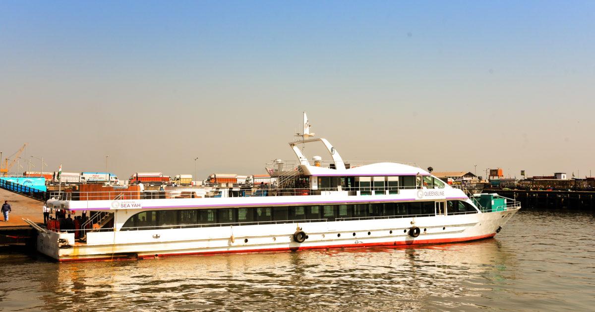 Mumbai's largest dining roomon sea hasarrived. Queensline