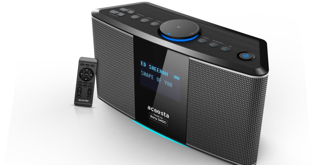 Acoosta Innovations Launches Acoosta Uno! World's High Fidelity System